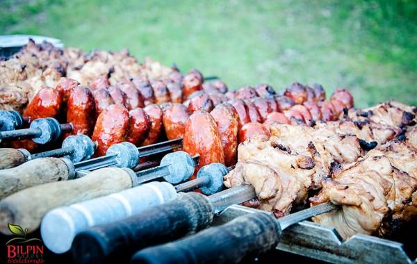 Brazillian BBQ wedding menu….